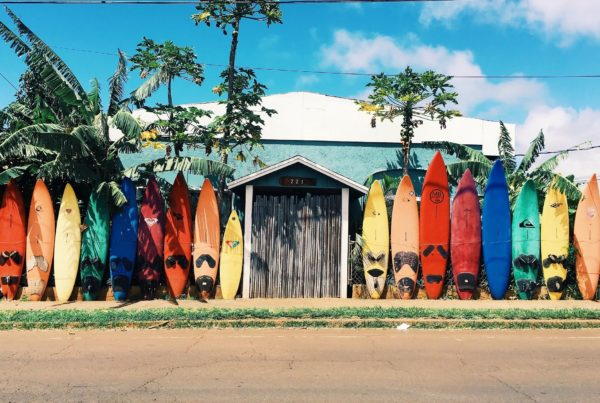 Op vakantie naar Hawaii